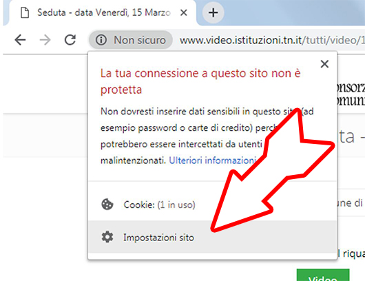 Abilitare Flash in Google Chrome